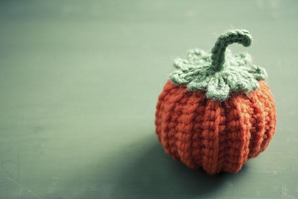 Sweater wearing pumpkin