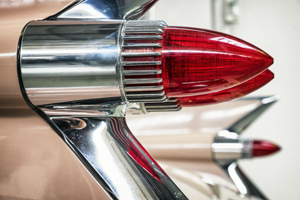 Classic car taillights