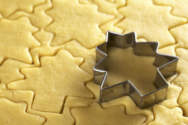 Cutting Out Christmas Cookies