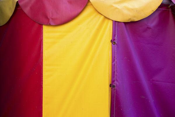 Circus tent flap