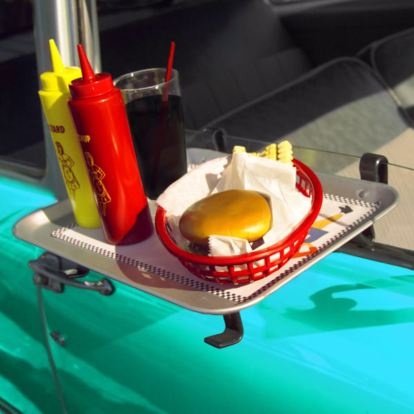 Car hop tray