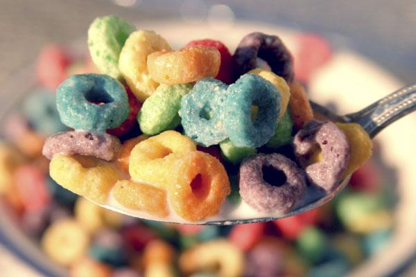 Rainbow cereal