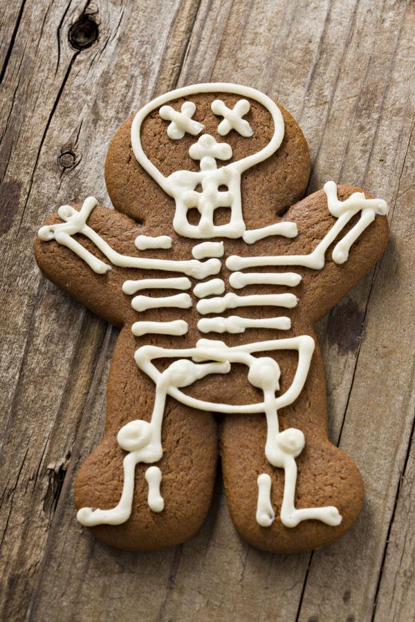 Skeleton Gingerbread Man