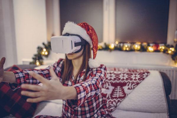 Virtual reality Christmas gift