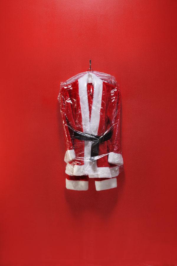 Dry Cleaned Santa Suit