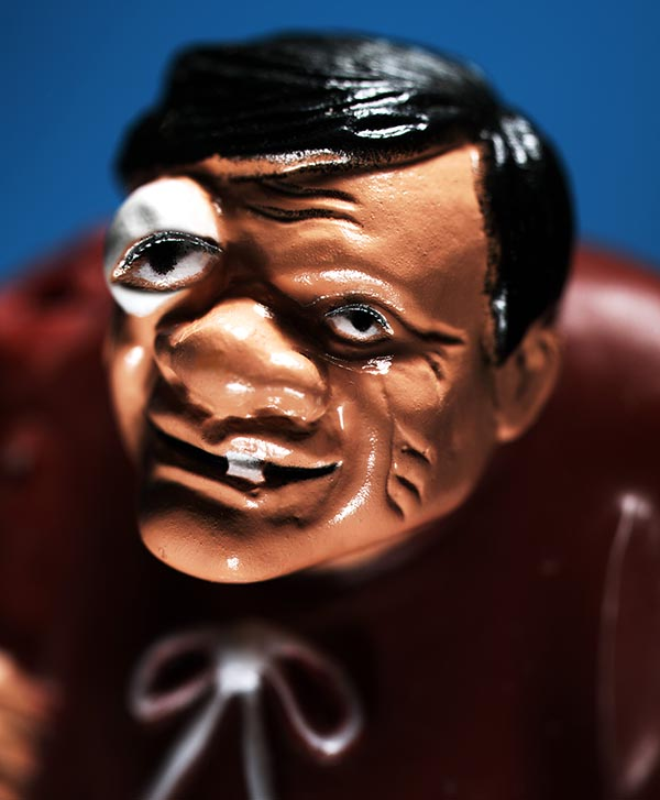 Deformed man plastic toy