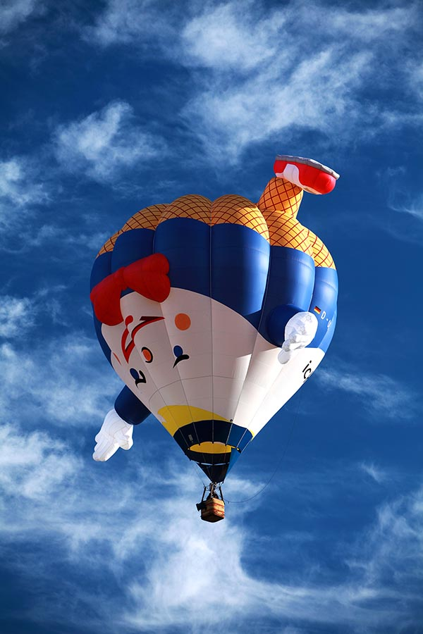 Humpty Dumpty hot air balloon