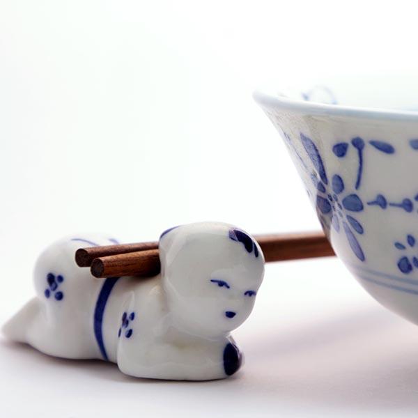 Rice bowl and chopsticks