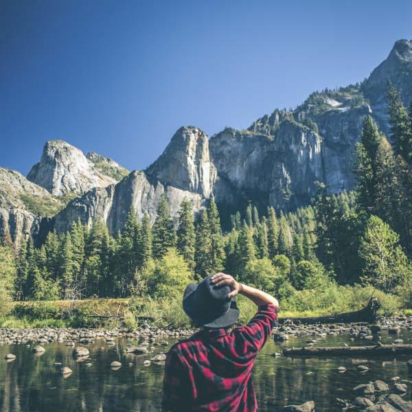 Looking at Yosemite