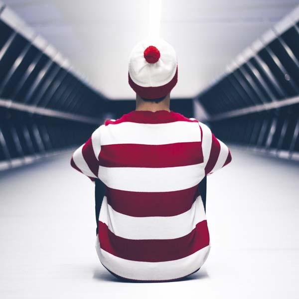 Waldo-looking guy