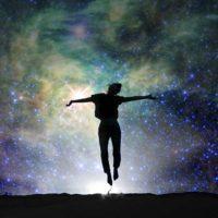 Woman in resonance